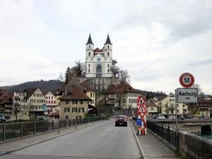 Angefangen im Kanton Bern, dann mal in Solothurn, jetzt schon Kanton Aargau, hier Aarburg.