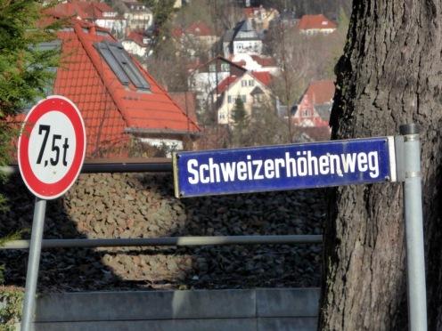 Aufstieg zum Bismarckturm.