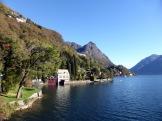 Spätvormittagssonne am Lago di Lugano.